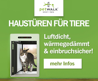 petWALK Large Rectangle Banner Cat