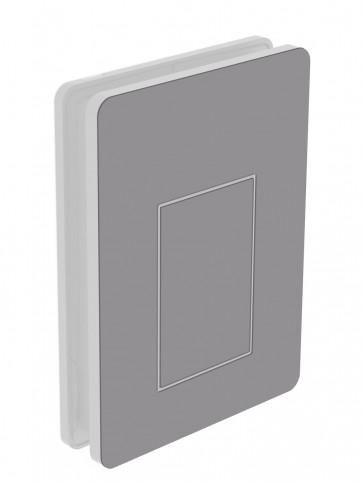 Außendekor - Medium - Acrylglas - Platingrau (7036)