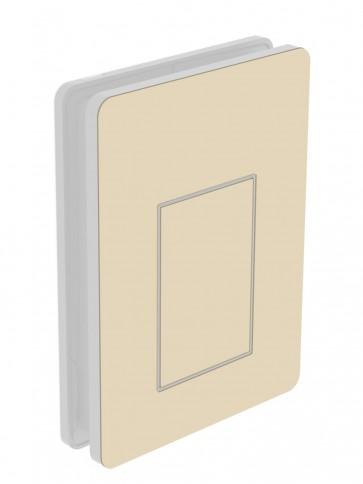 Außendekor - Medium - Acrylglas - Hellelfenbein (1015)