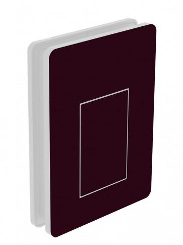 Außendekor - Medium - Acrylglas - Schwarzrot (3007)