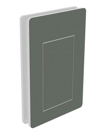 Außendekor - Large - Acrylglas - Mausgrau (7005)
