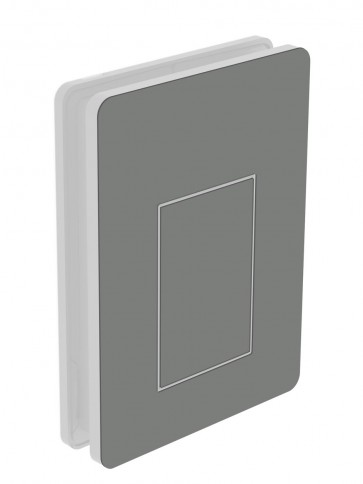 Außendekor - Medium - Acrylglas - Steingrau (7030)
