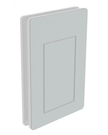 Außendekor - Large - Acrylglas - Lichtgrau (7035)