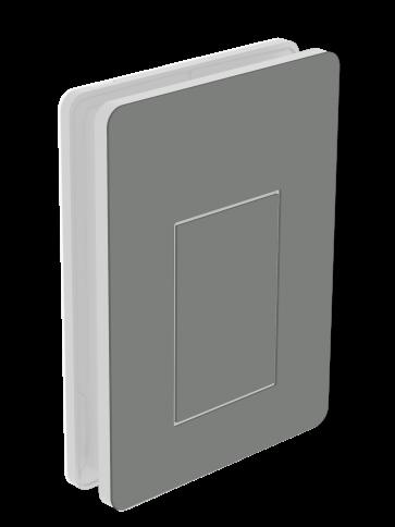 Außendekor - Medium - Acrylglas - Staubgrau (7037)