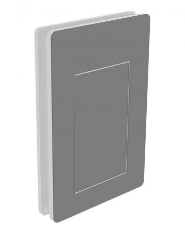 Außendekor - Large - Acrylglas - Staubgrau (7037)