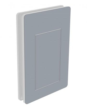 Außendekor - Large - Acrylglas - Fenstergrau (7040)
