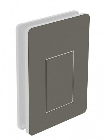 Außendekor - Medium - Acrylglas - Seidengrau (7044)