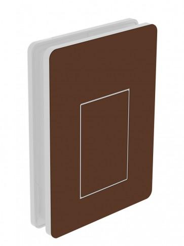 Außendekor - Medium - Acrylglas - Nussbraun (8011)