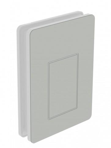 Außendekor - Medium - HPL - Pastellgrau (0074)