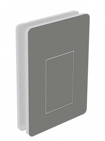 Außendekor - Medium - HPL - Dunkelgrau (0075)