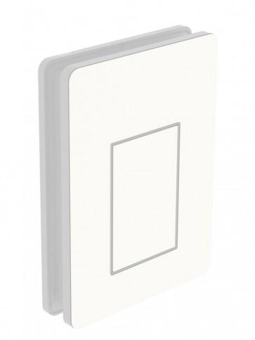 Außendekor - Medium - HPL - Weiß (0085)