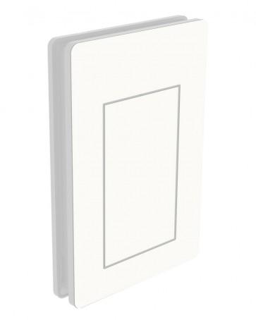 Außendekor - Large - HPL - Weiß (0085)