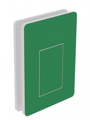 Außendekor - Medium - HPL - Grün (0623)