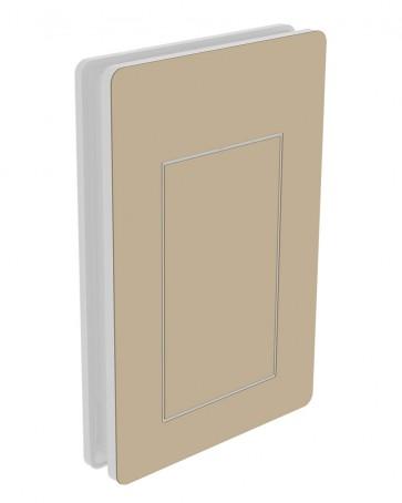 Außendekor - Large - HPL - Beige (0634)
