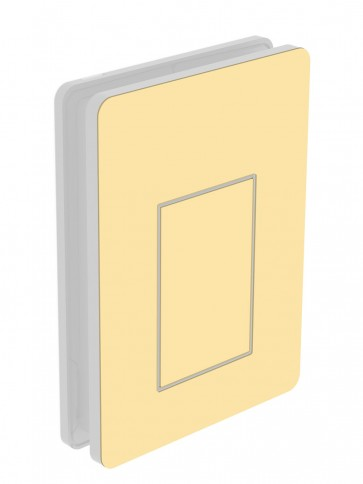 Außendekor - Medium - HPL - Maisgelb (0687)