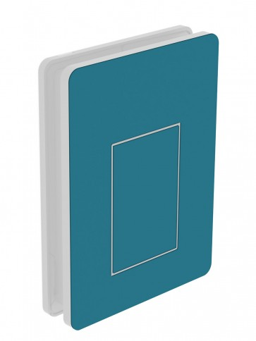 Außendekor - Medium - HPL - Stahlblau (0712)