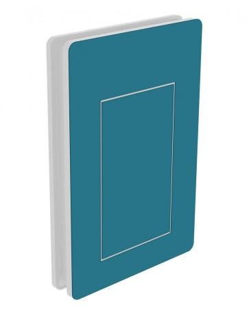 Außendekor - Large - HPL - Stahlblau (0712)