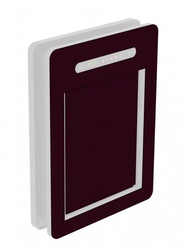 Innendekor - Medium - Acrylglas - Schwarzrot (3007)