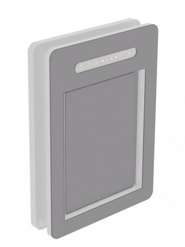 Innendekor - Medium - Acrylglas - Platingrau (7036)