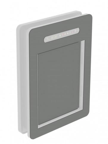 Innendekor - Medium - Acrylglas - Staubgrau (7037)
