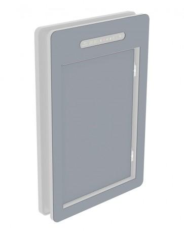Innendekor - Large - Acrylglas -  Fenstergrau (7040)