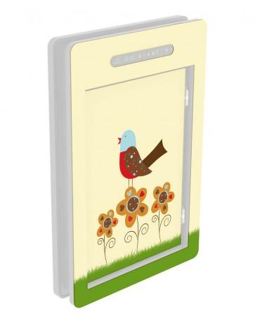 Innendekor - Large - Acrylglas - Exklusiv - spring bird