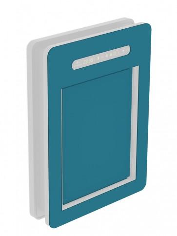 Innendekor - Medium - HPL - Stahlblau (0712)