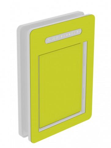 Innendekor - Medium - HPL - Gelbgrün (0725)
