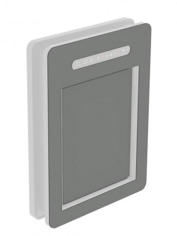 Innendekor - Medium - Acrylglas - Steingrau (7030)