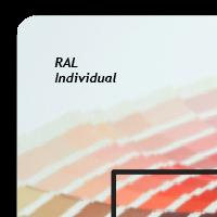 Außendekor - Large - Acrylglas - Individualfarbe