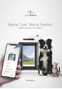 petWALK Folder A4 DE 2018