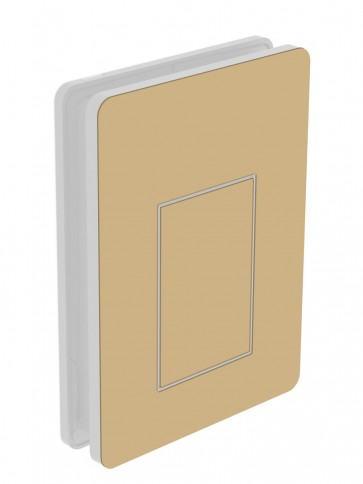 outside cover - large - acrylic glass - beige (1001)