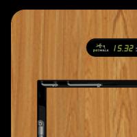 inside cover  - large - HPL – wood