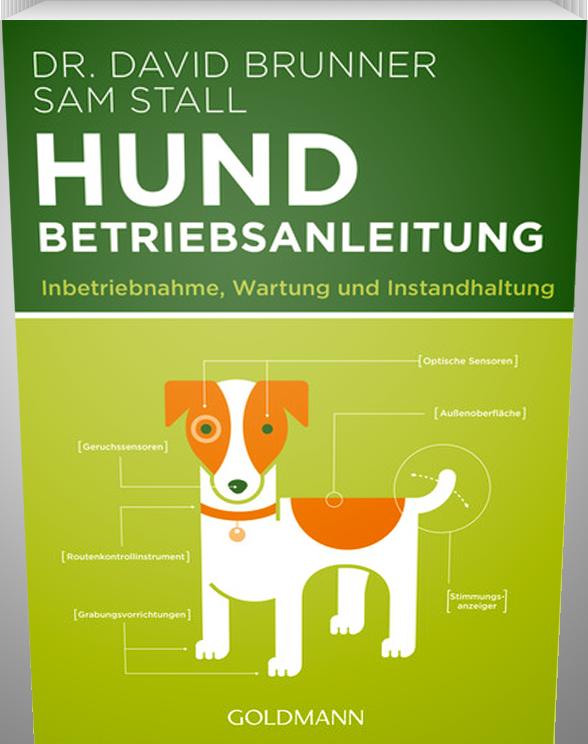 Lustige Betriebsanleitung für Hundebesitzer.