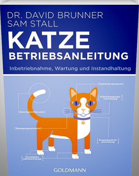 Lustige Betriebsanleitung für Katzenbesitzer.