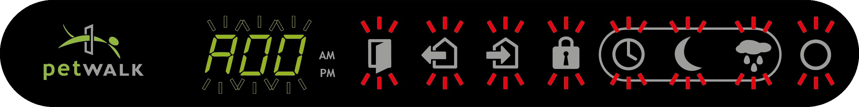 A00 - Alarm: Türe aufgebrochen