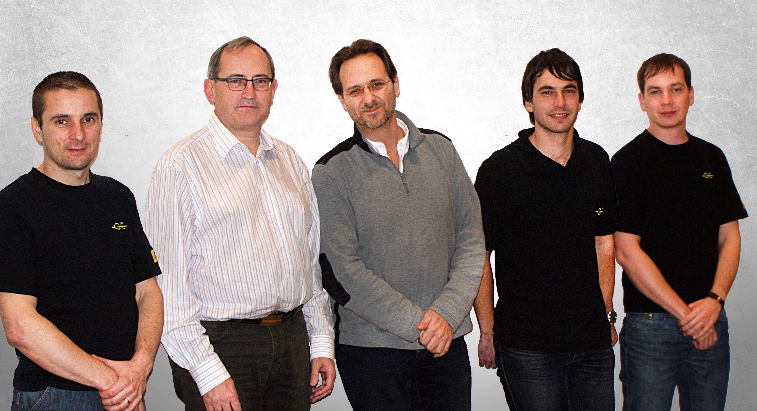 Das Team von electronic systems Ginzinger.